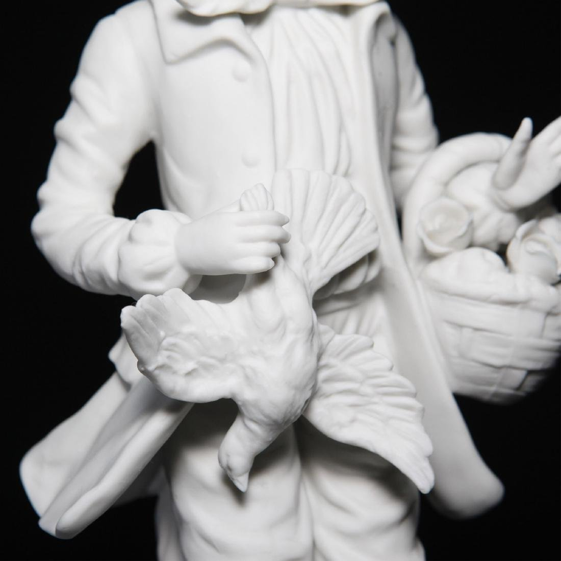 Bisque Porcelain Statue Sculptural Figurine - 3