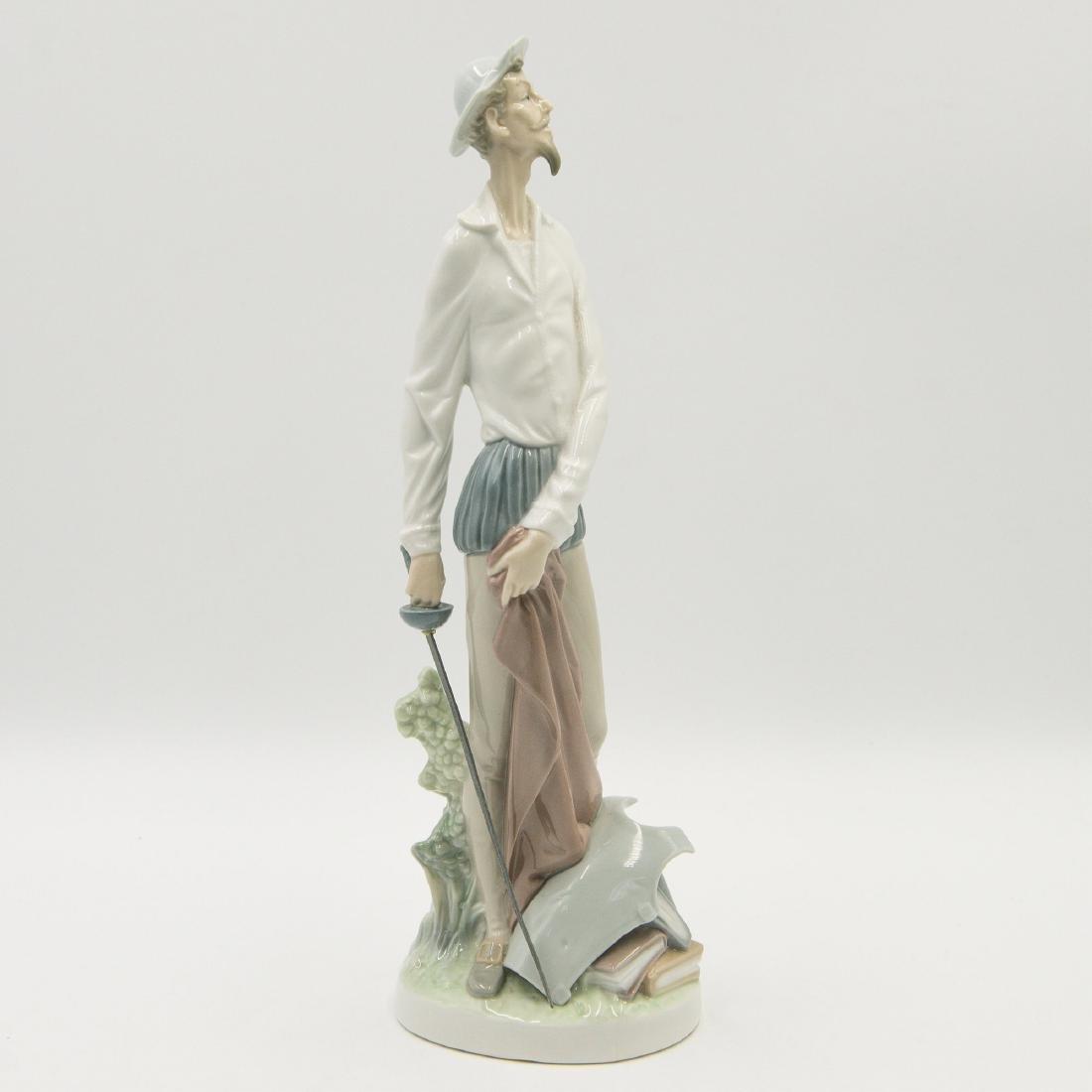 Lladro Quixote Standing Up Figure (4854)