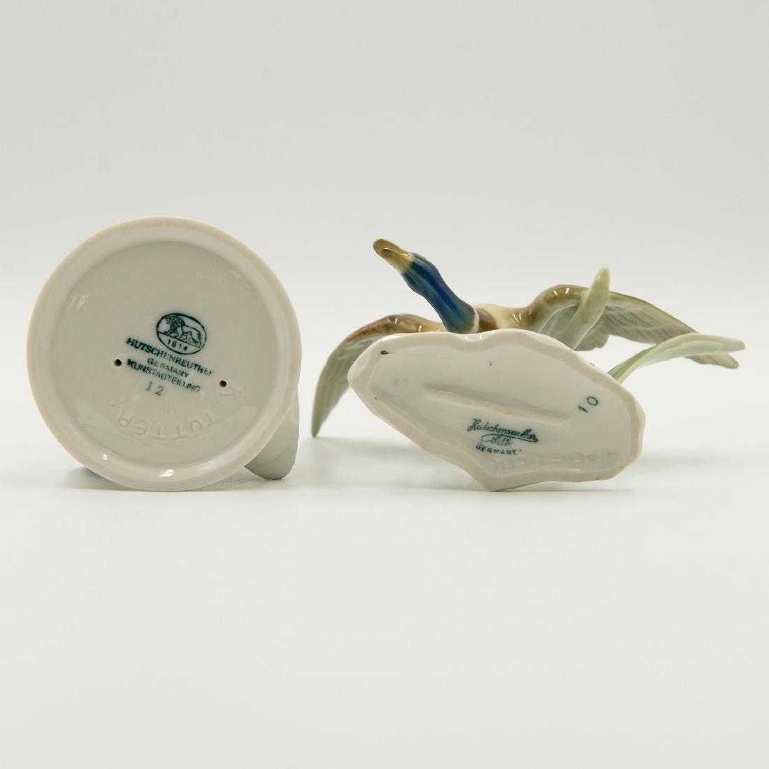 Pair of Hutschenreuther Duck Figurines - 7