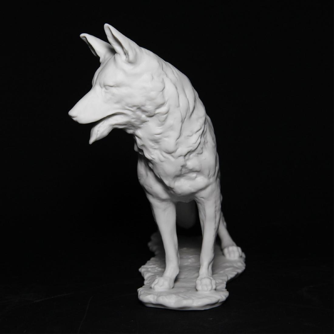 Kaiser German Shepherd Dog Bisque Figurine - 2