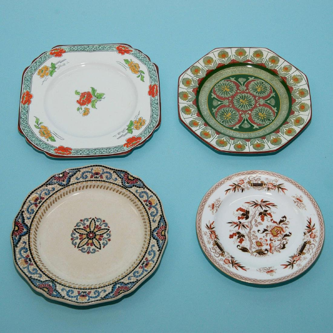 Wedgwood 4pc Plates Chargers Japanese