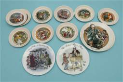 Wedgwood 13 Childrens Story Plates