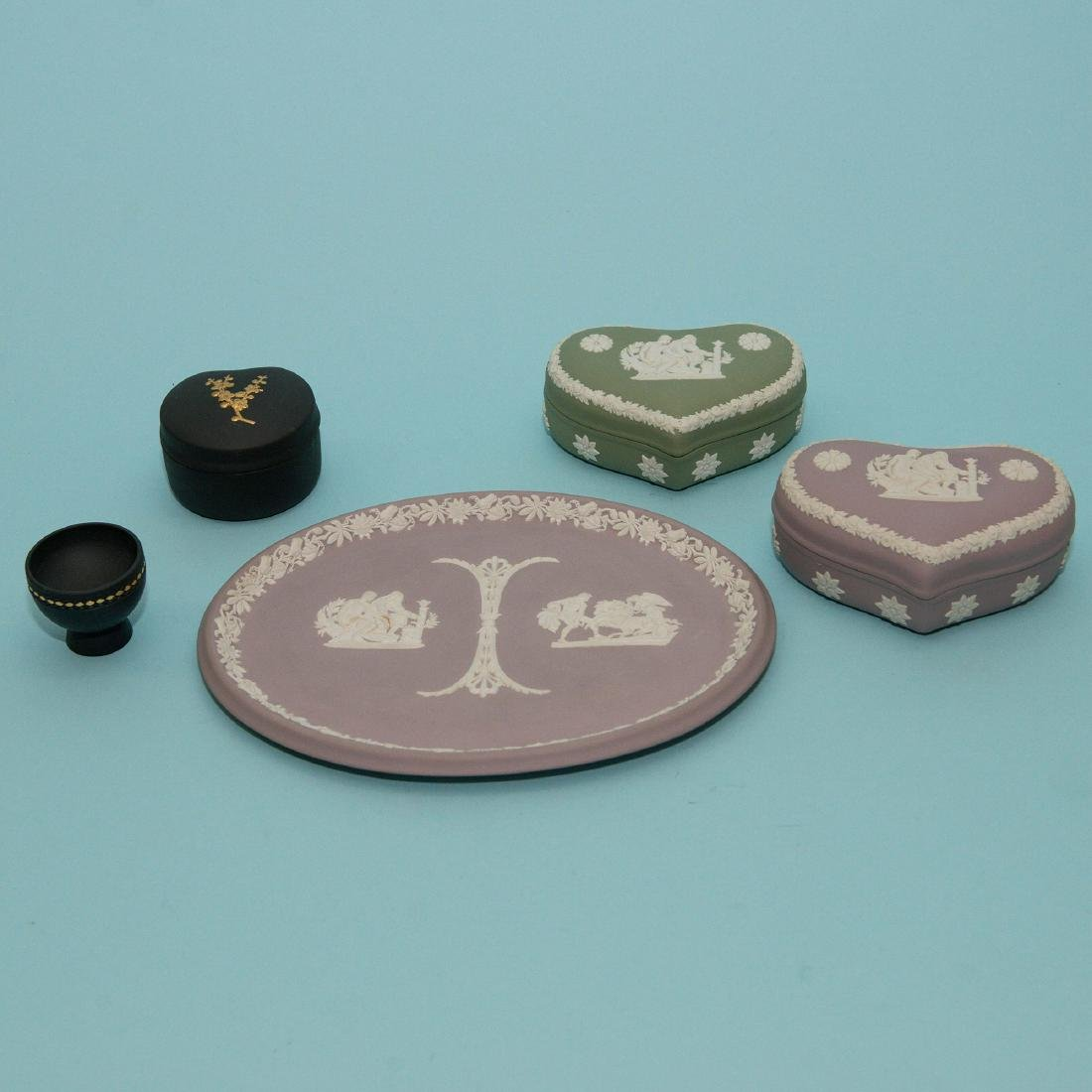 Wedgwood Jasperware 8 piece Collection