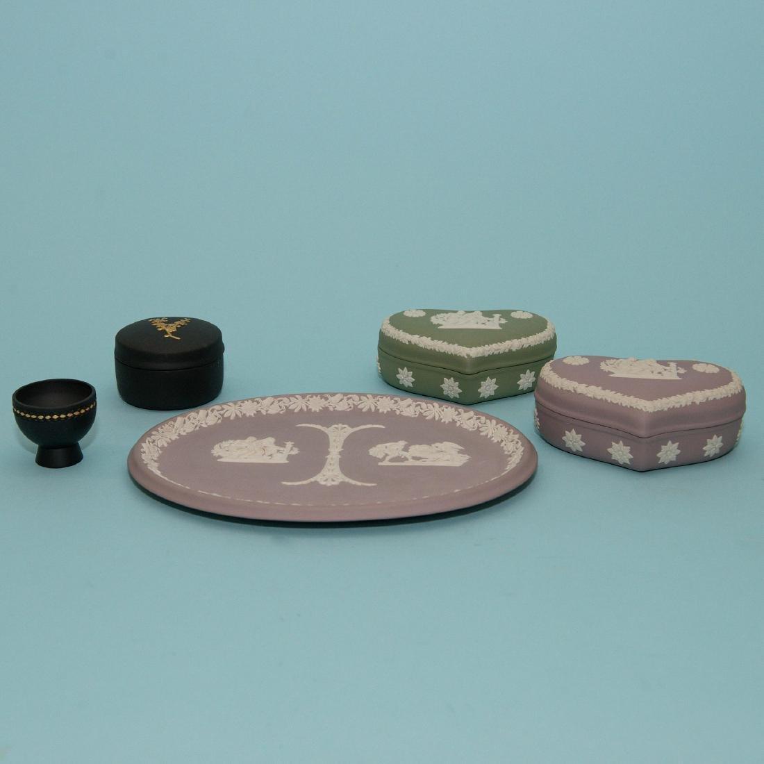 Wedgwood Jasperware 8 piece Collection - 2