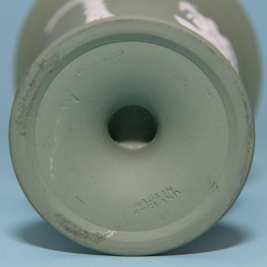 Wedgwood 10pcs Green/White  Jasperware Collection - 4