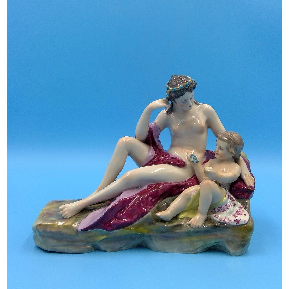 KARL ENS GERMAN PORCELAIN FIGURINE NUDE