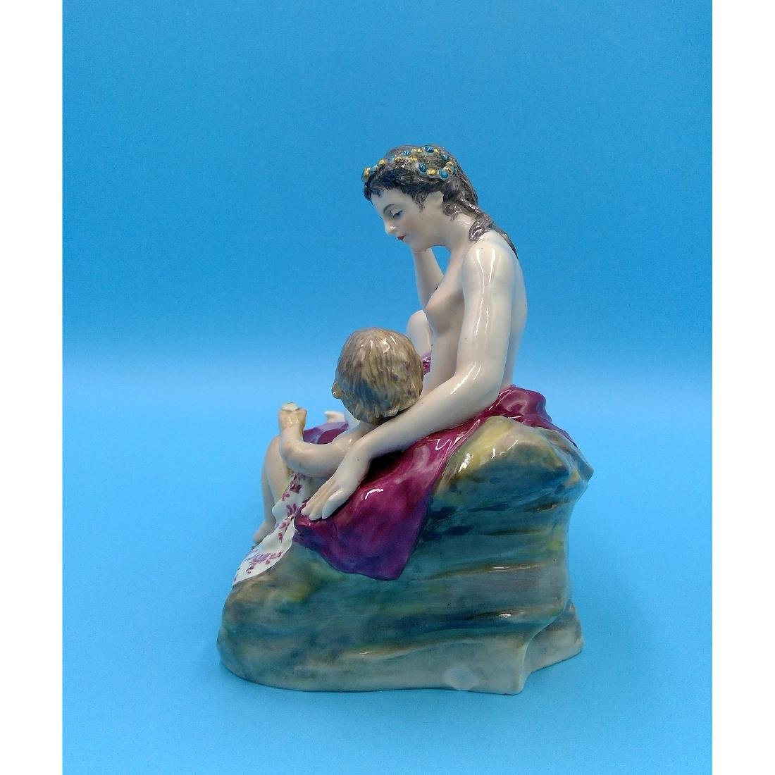 KARL ENS GERMAN PORCELAIN FIGURINE NUDE - 2