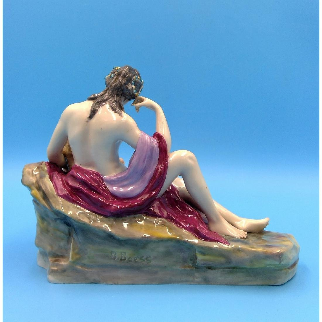 KARL ENS GERMAN PORCELAIN FIGURINE NUDE - 3