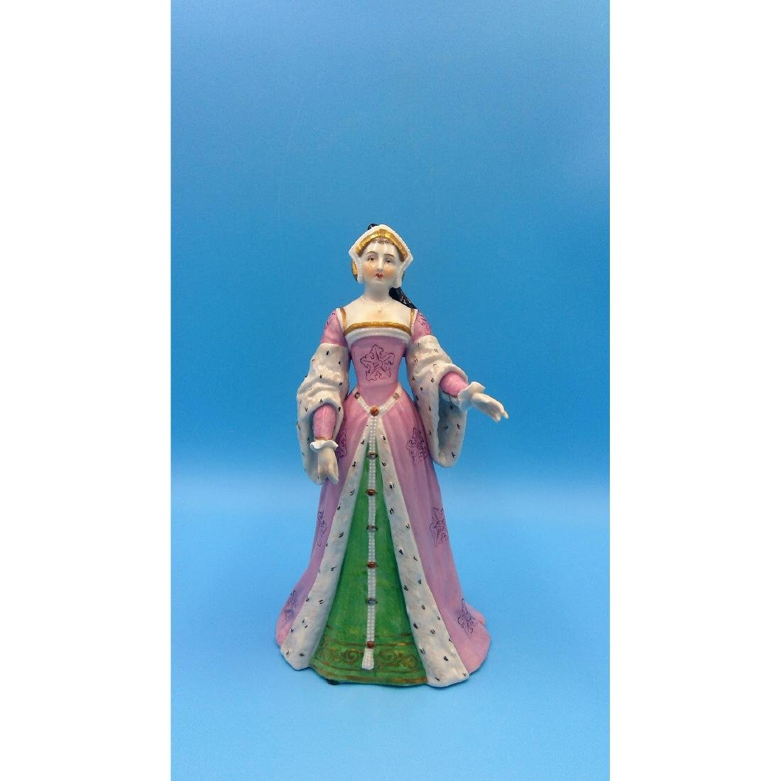 CARL THIEME GERMAN PORCELAIN FIGURINE PRINCESS