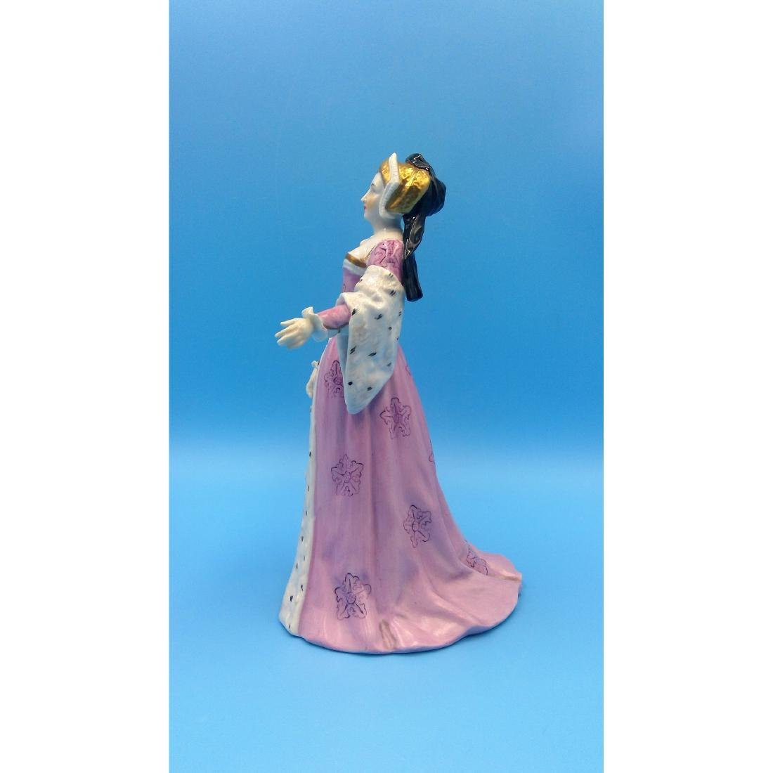 CARL THIEME GERMAN PORCELAIN FIGURINE PRINCESS - 2