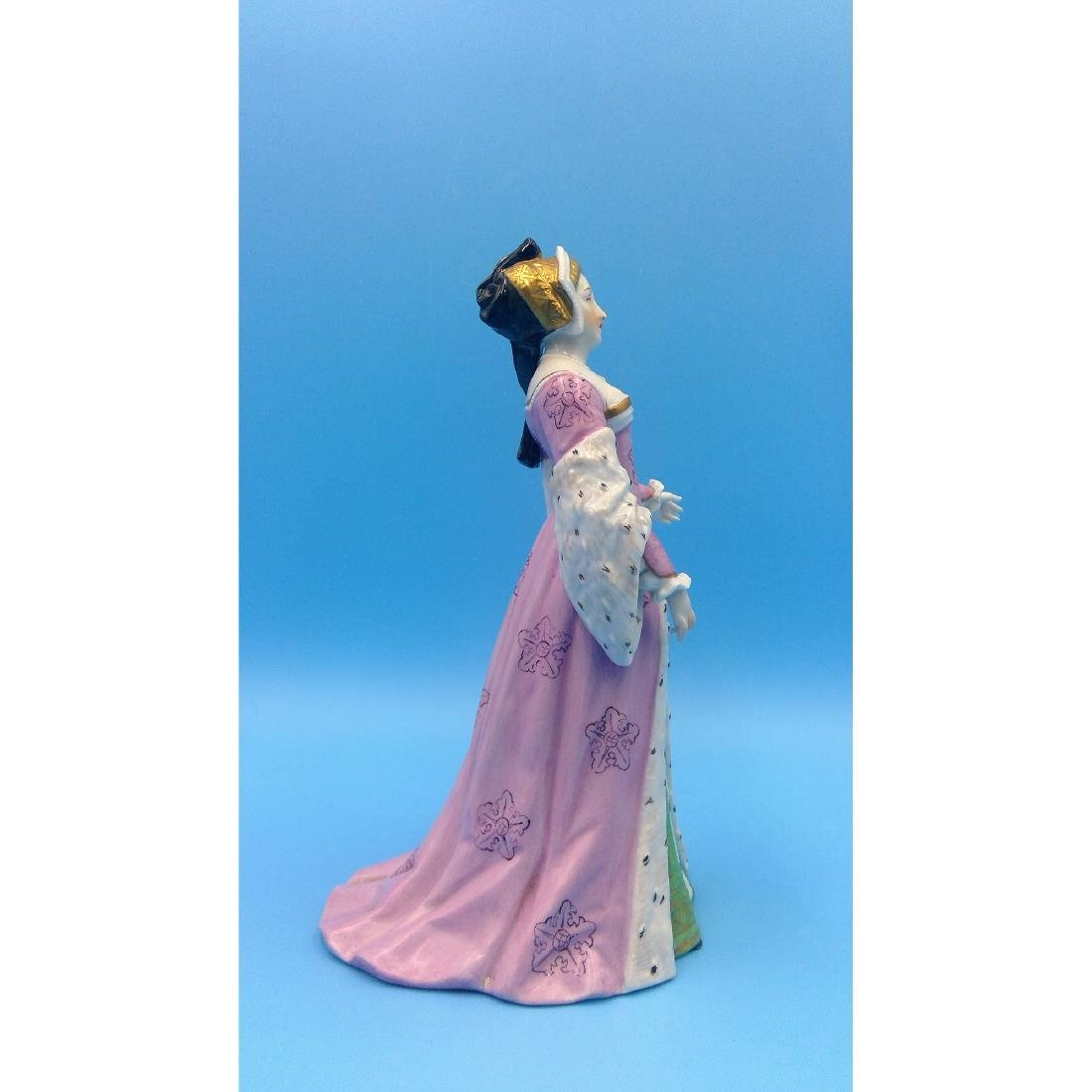 CARL THIEME GERMAN PORCELAIN FIGURINE PRINCESS - 4