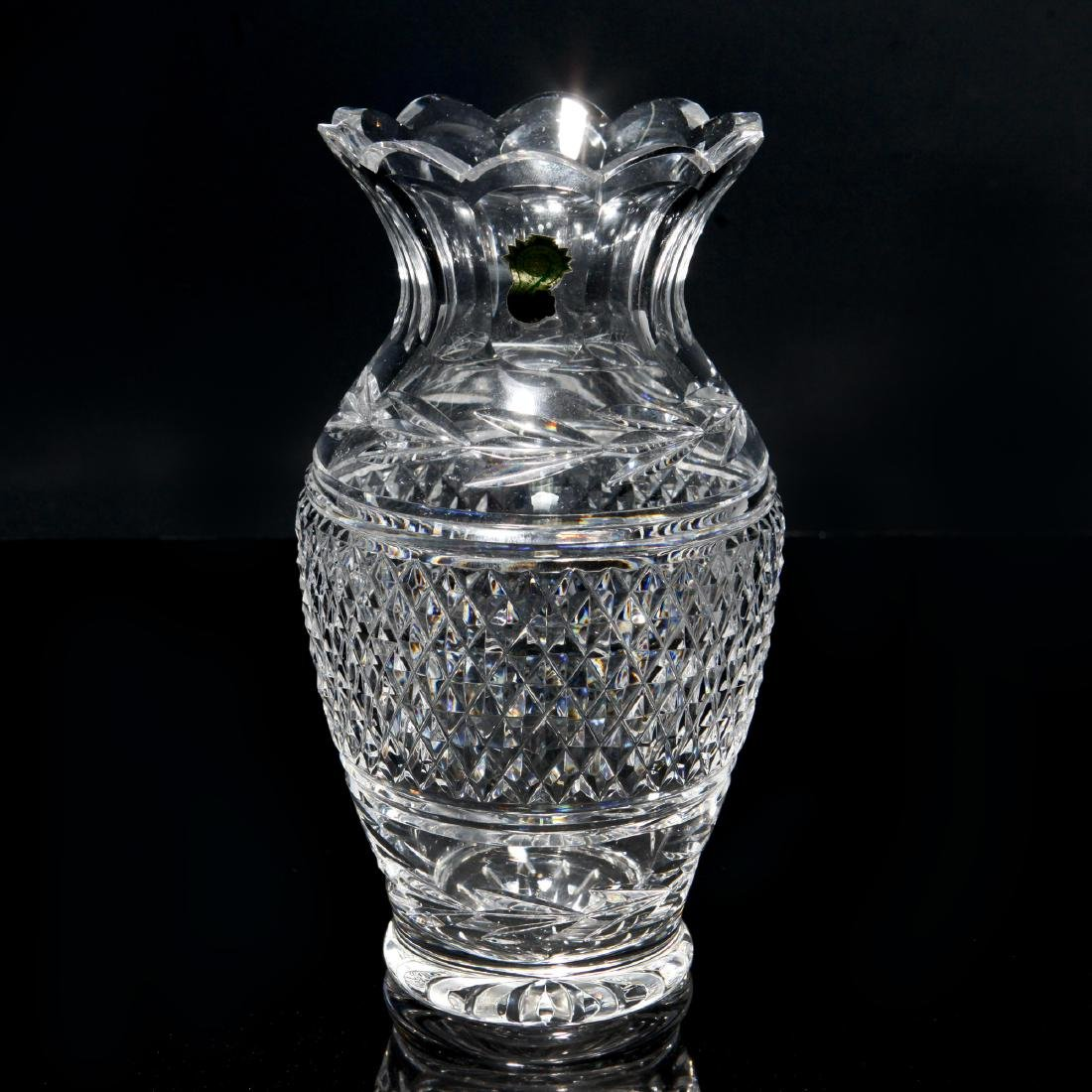 WATERFORD GLANDORE FLOWER VASE