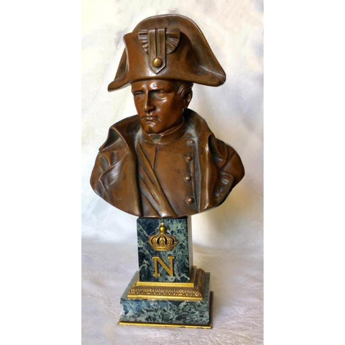 EMILE PINEDO (FRENCH, 1840-1916) BRONZE NAPOLEON