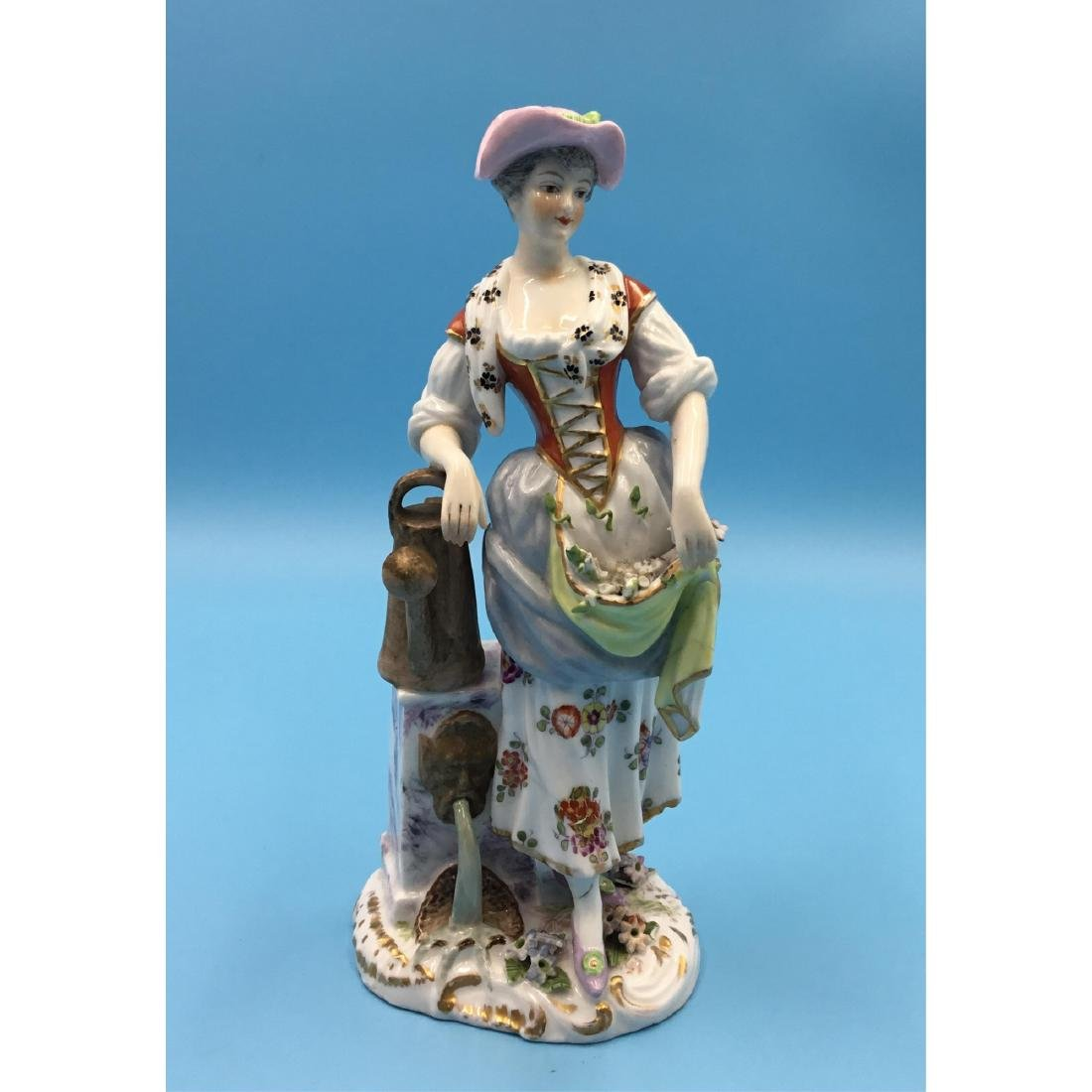 ACHILLE BLOCH FRENCH PORCELAIN FIGURINE
