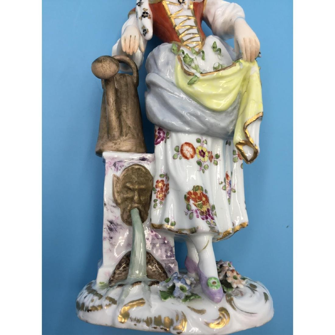 ACHILLE BLOCH FRENCH PORCELAIN FIGURINE - 6