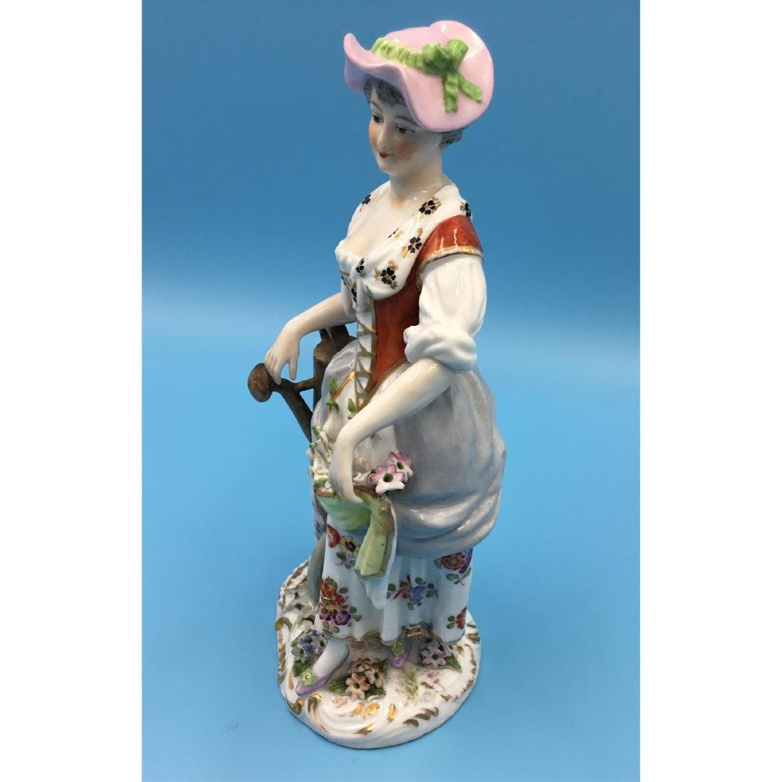 ACHILLE BLOCH FRENCH PORCELAIN FIGURINE - 8