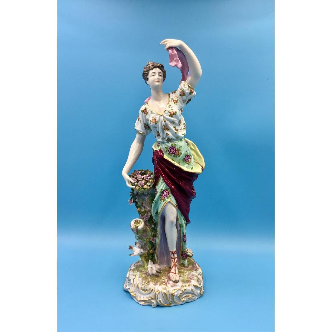 LARGE ARCHILLE BLOCH FRENCH STATUE FIGURINE