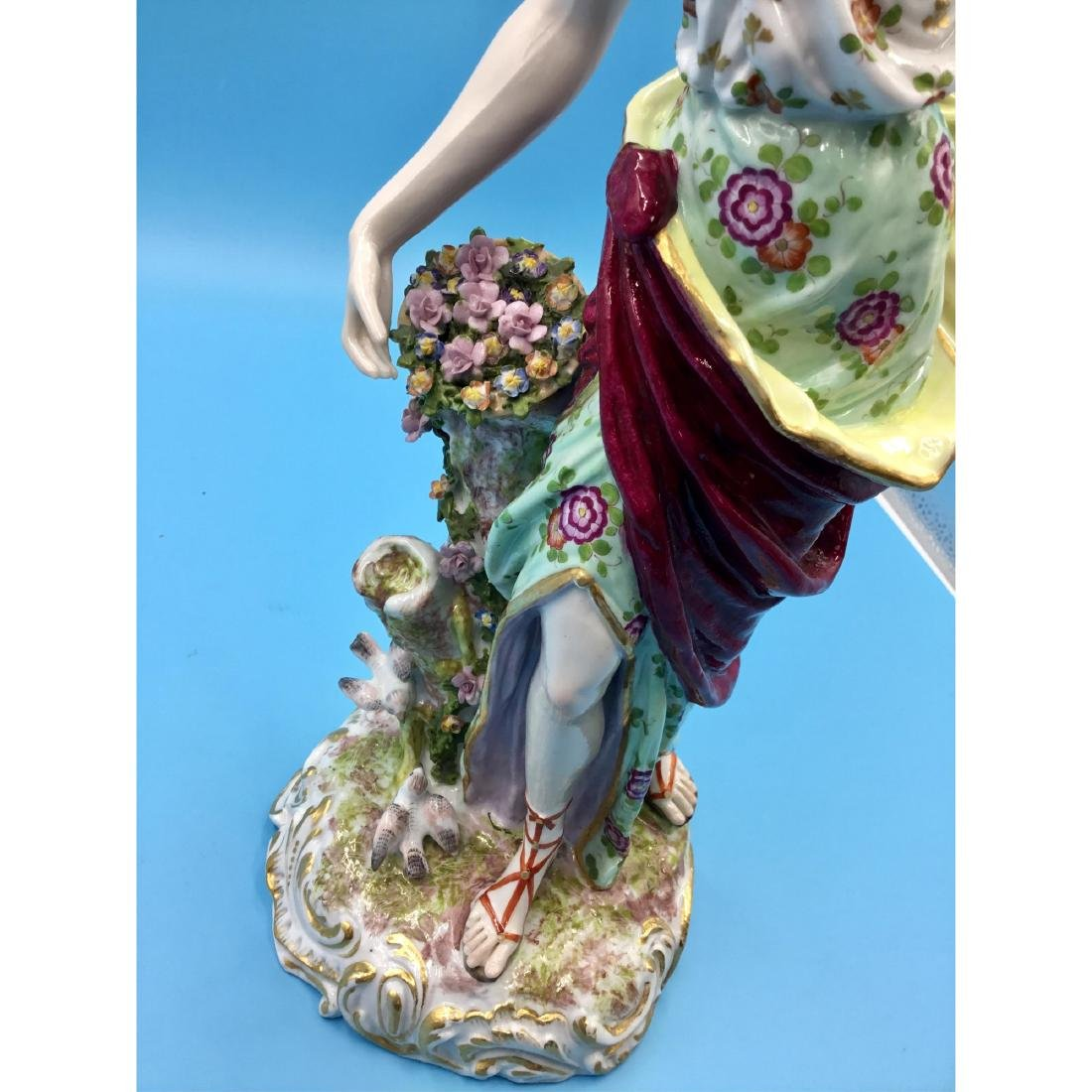 LARGE ARCHILLE BLOCH FRENCH STATUE FIGURINE - 6