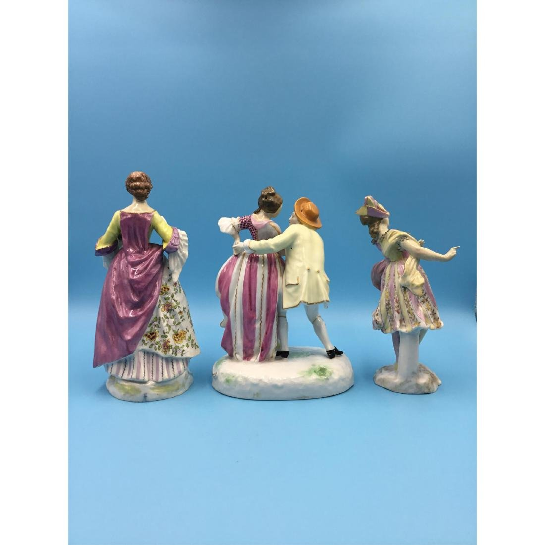 GROUP OF 3 SAMSON FRENCH PORCELAIN FIGURINES - 3