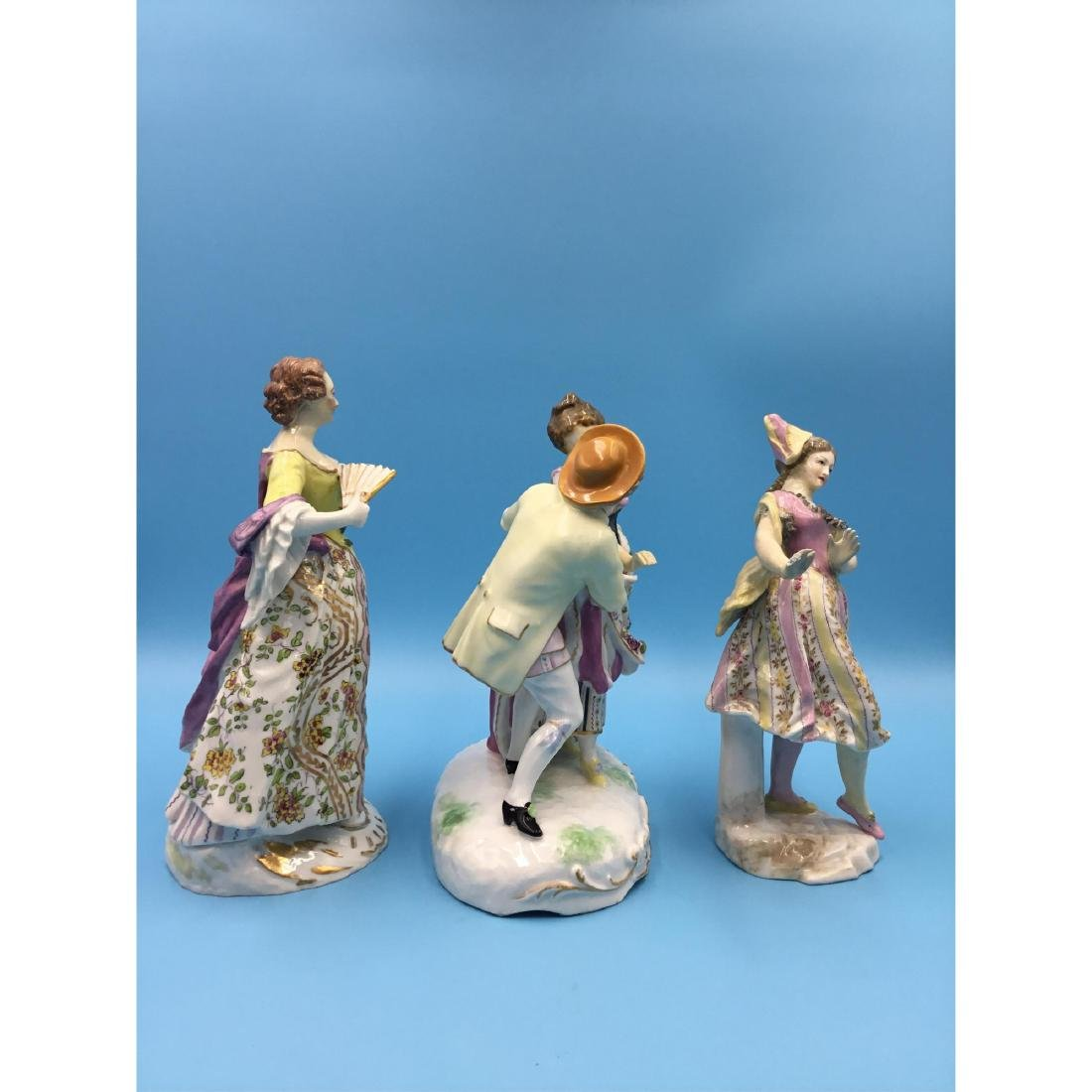 GROUP OF 3 SAMSON FRENCH PORCELAIN FIGURINES - 4