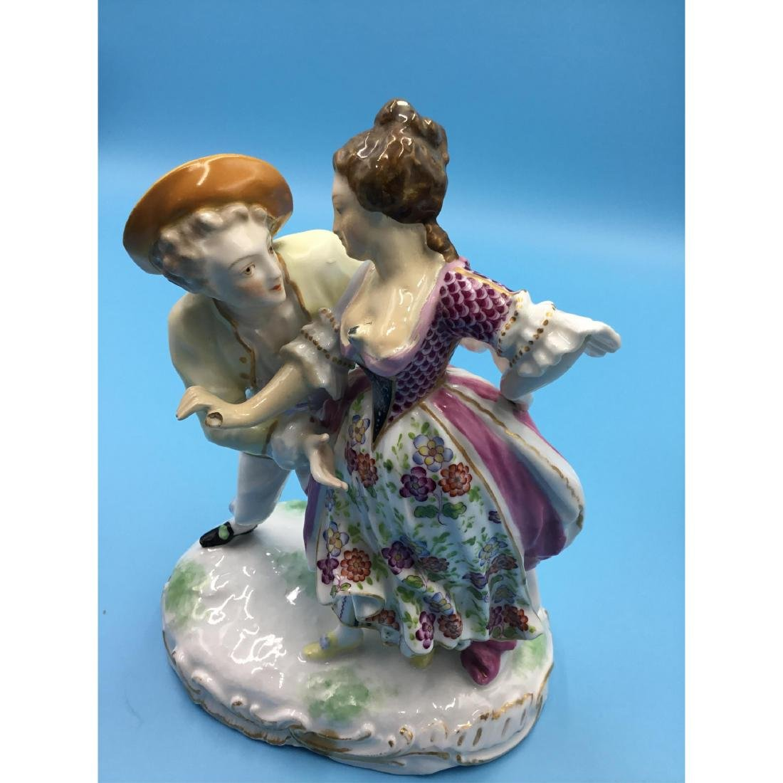 GROUP OF 3 SAMSON FRENCH PORCELAIN FIGURINES - 8