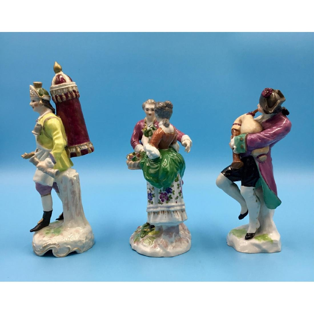 GROUP OF 3 SAMSON FRENCH PORCELAIN FIGURINES - 2