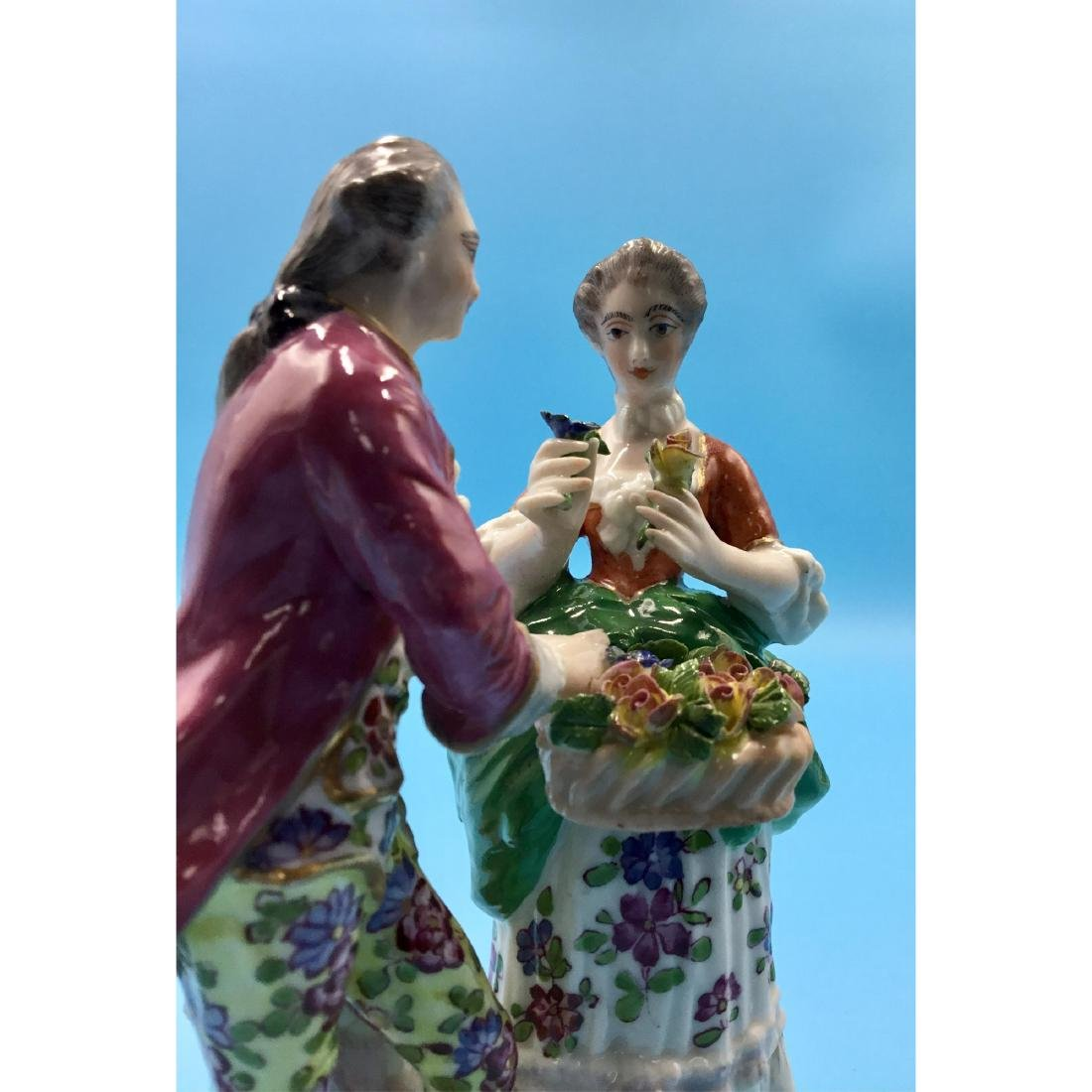 GROUP OF 3 SAMSON FRENCH PORCELAIN FIGURINES - 9