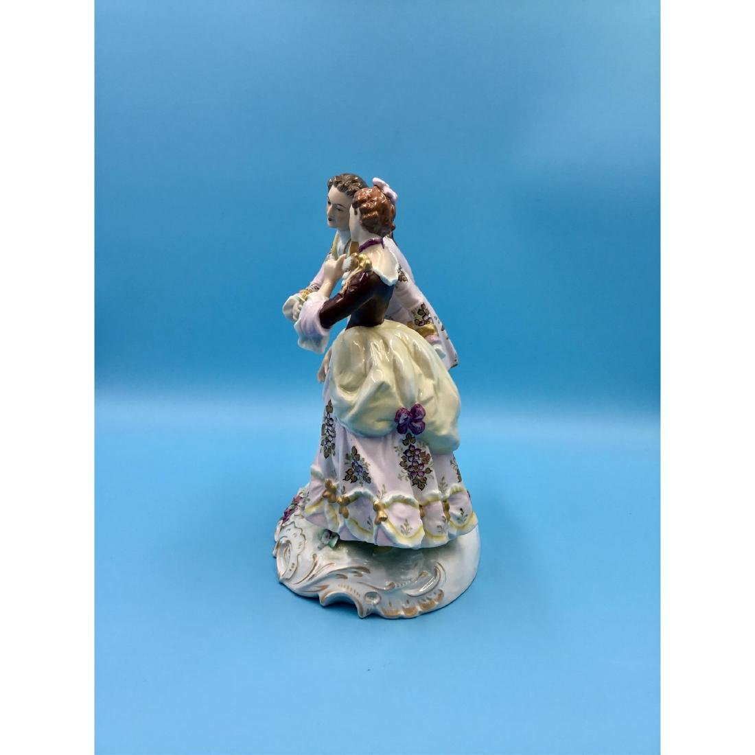 SITZENDORF GERMAN PORCELAIN GROUP FIGURINE - 2