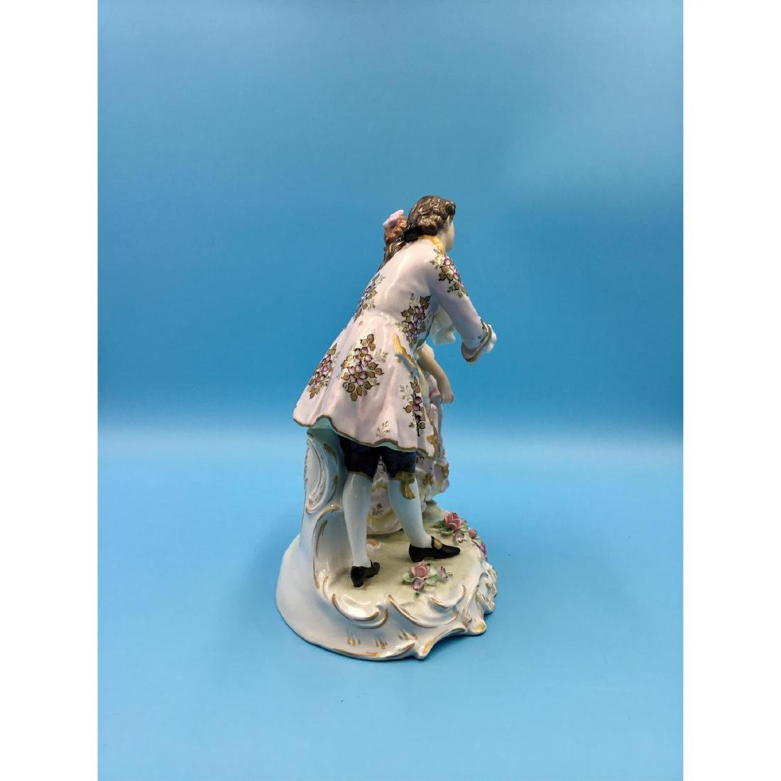 SITZENDORF GERMAN PORCELAIN GROUP FIGURINE - 4