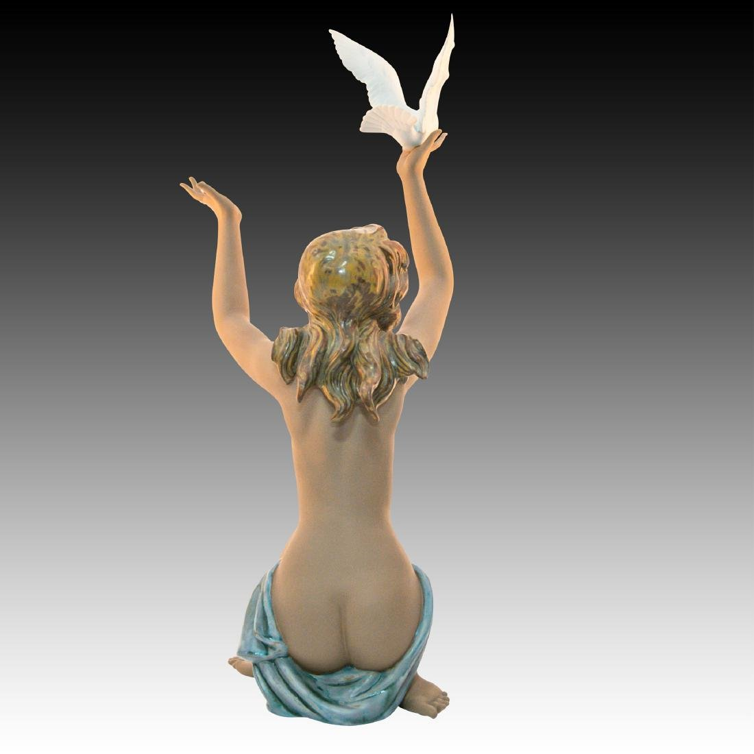 "LLADRO ""PEACE OFFERING"" PORCELAIN FIGURINE - 3"