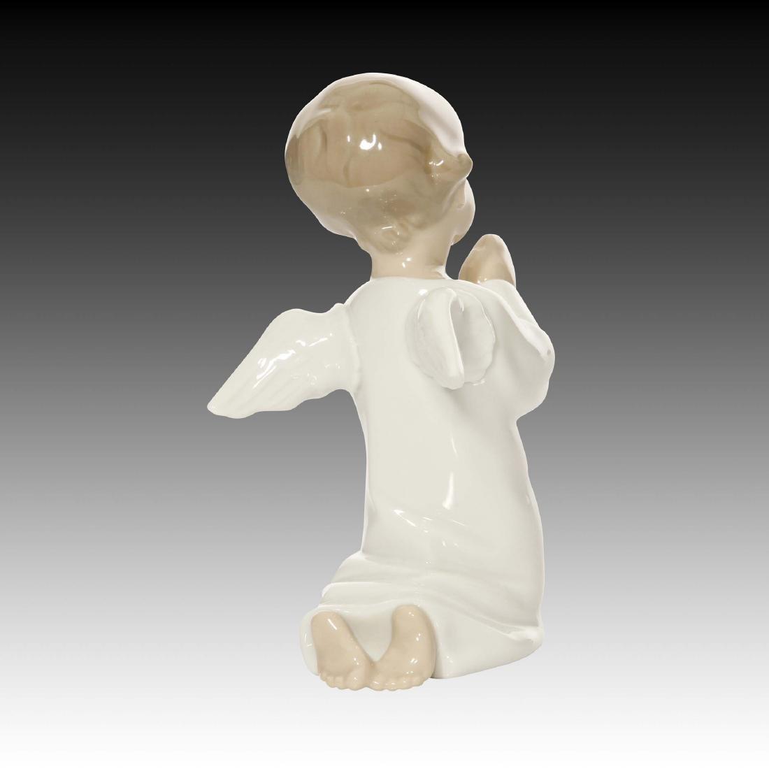LLADRO ANGEL PRAYING FIGURINE 4538 - 2
