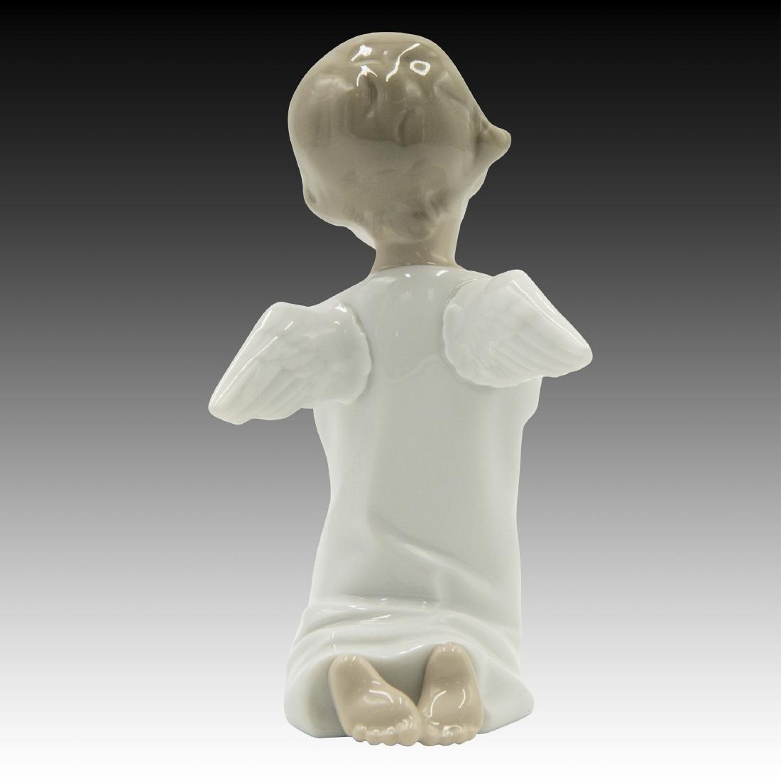 LLADRO ANGEL PRAYING FIGURINE 4538 - 4