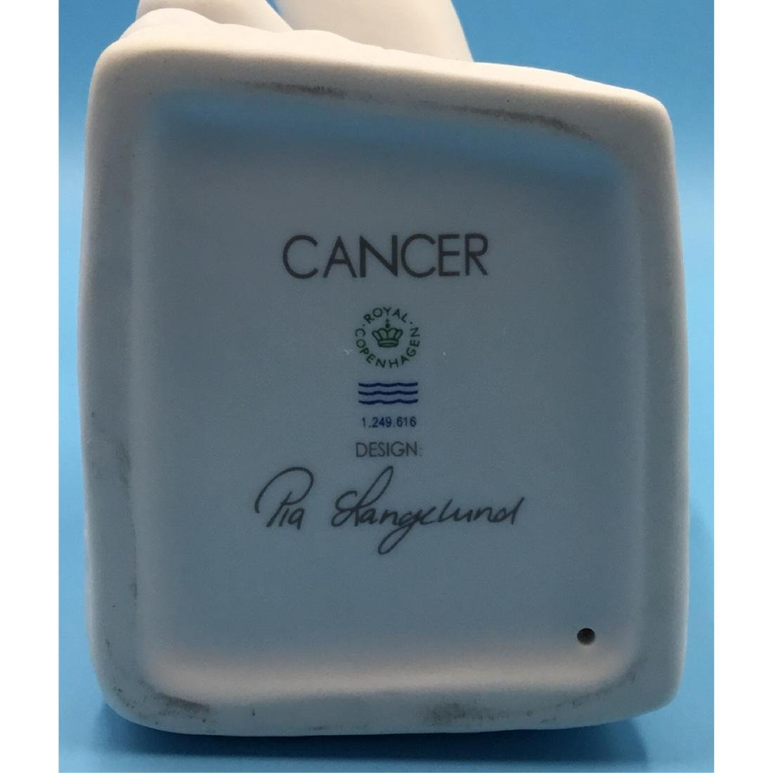 ROYAL COPENHAGEN ZODIAC CANCER MALE FIGURINE - 5