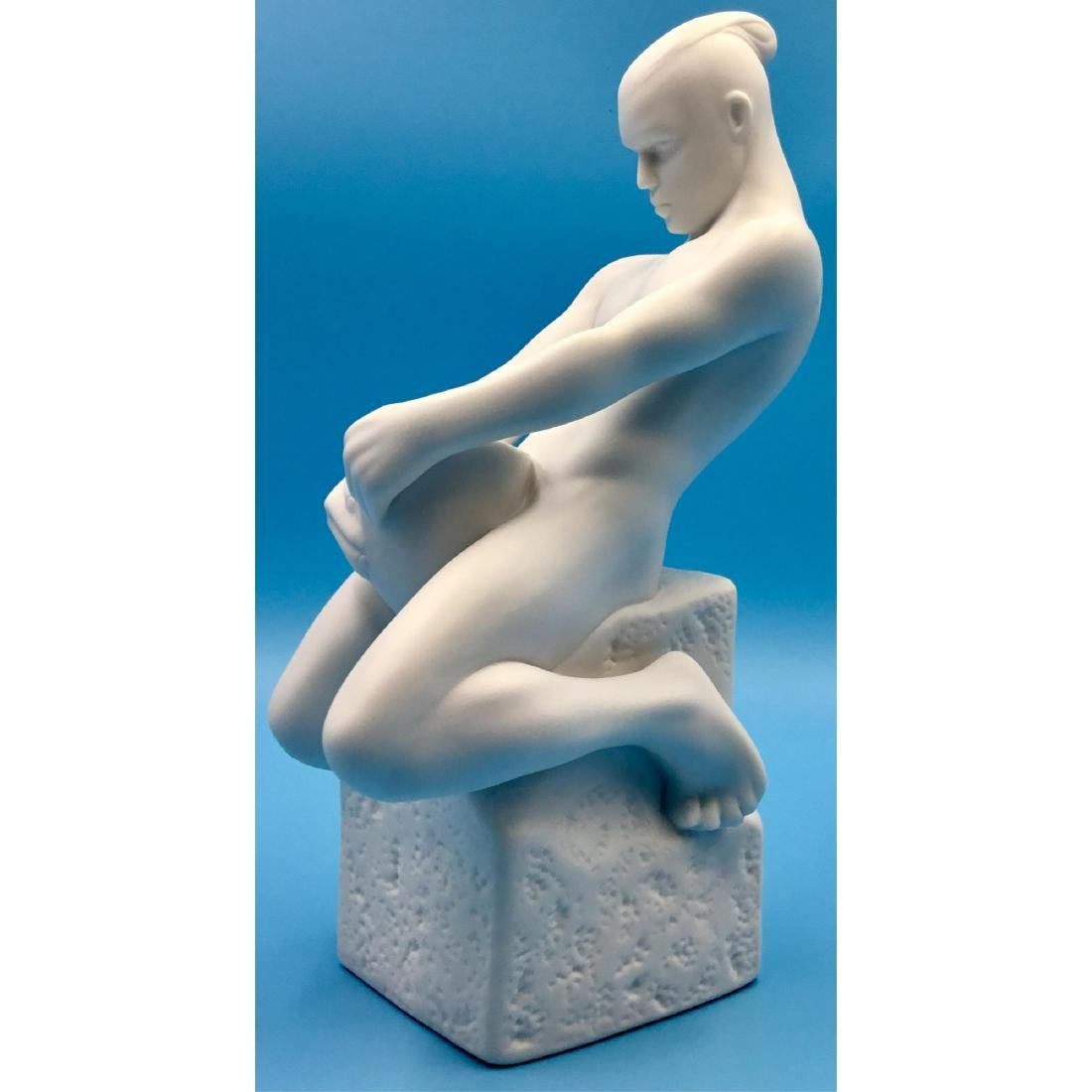 ROYAL COPENHAGEN ZODIAC AQUARIUS MALE FIGURINE