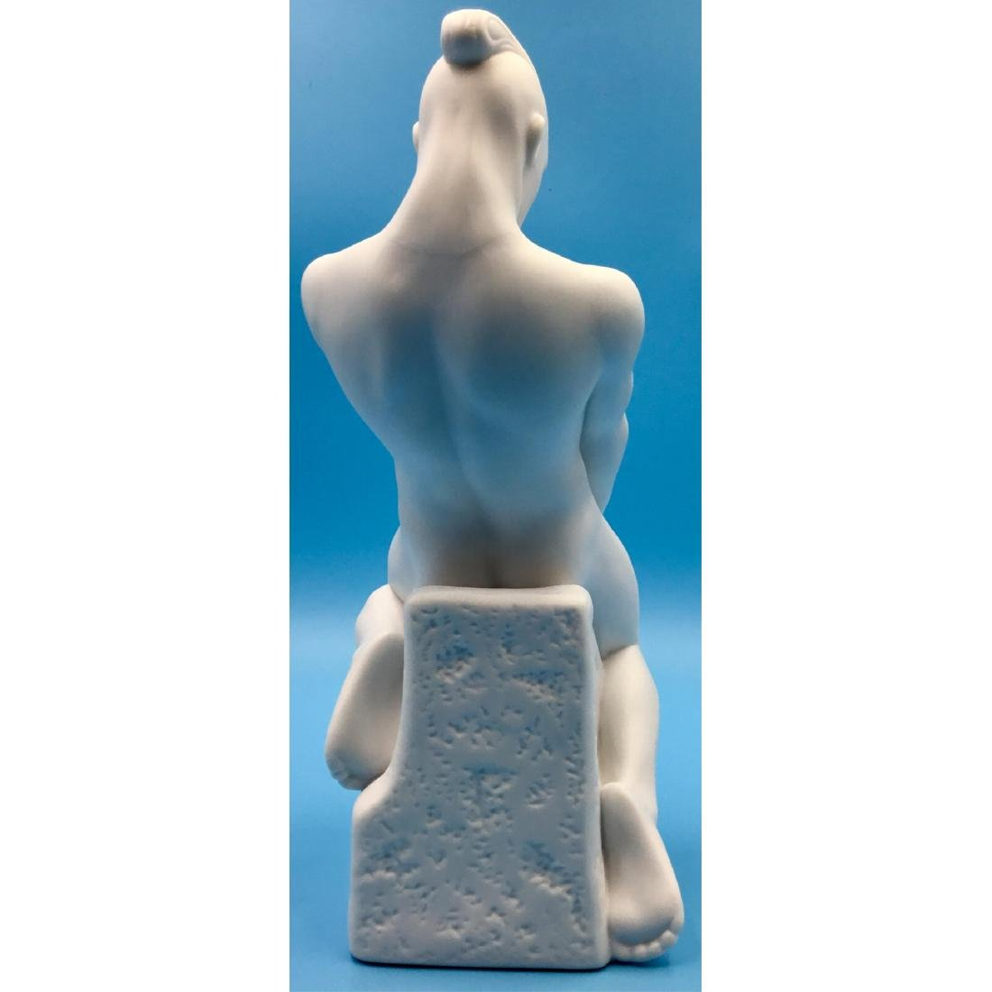ROYAL COPENHAGEN ZODIAC AQUARIUS MALE FIGURINE - 2