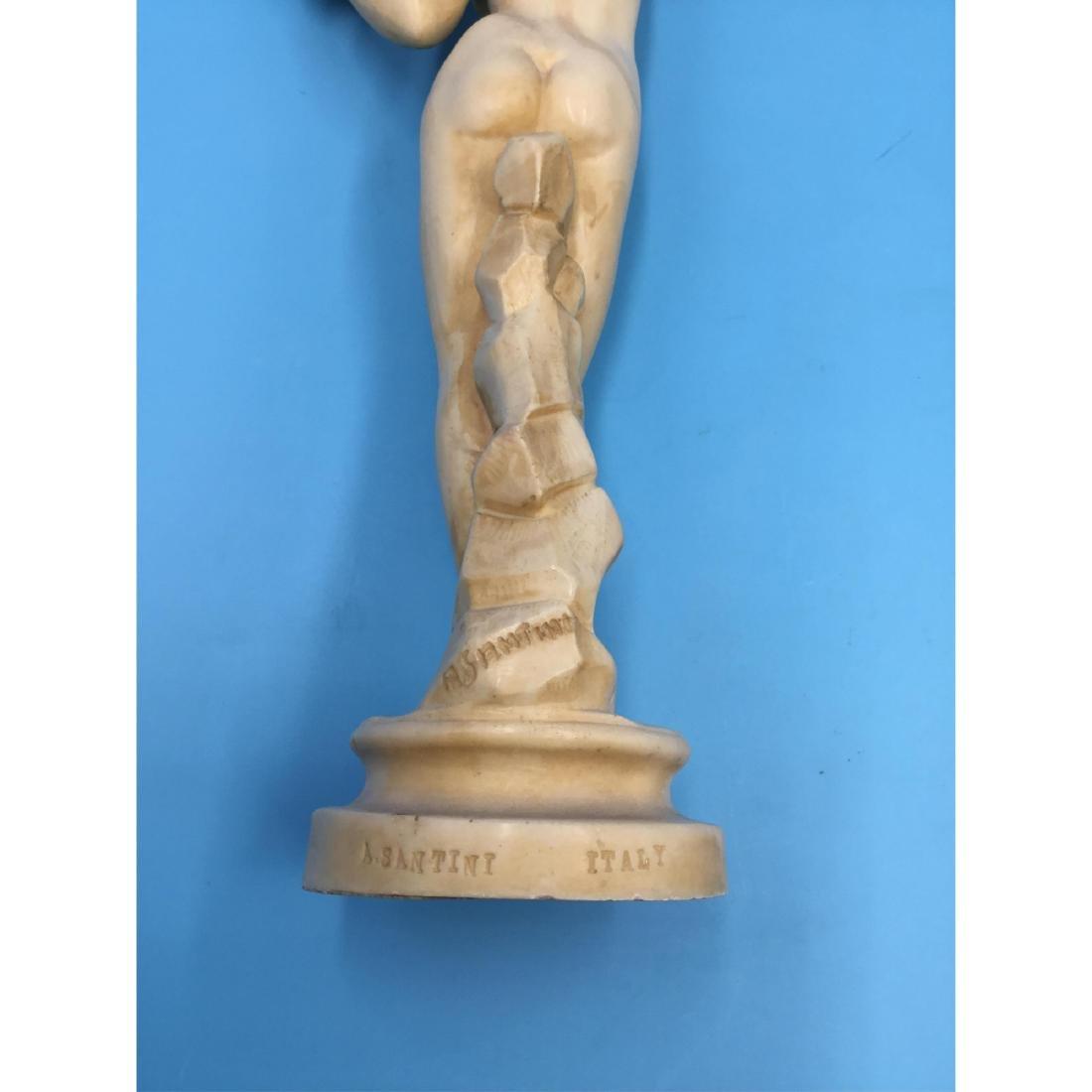 A. SANTINI (ITALIAN, 1910-1975) SCULPTURES NUDES - 5