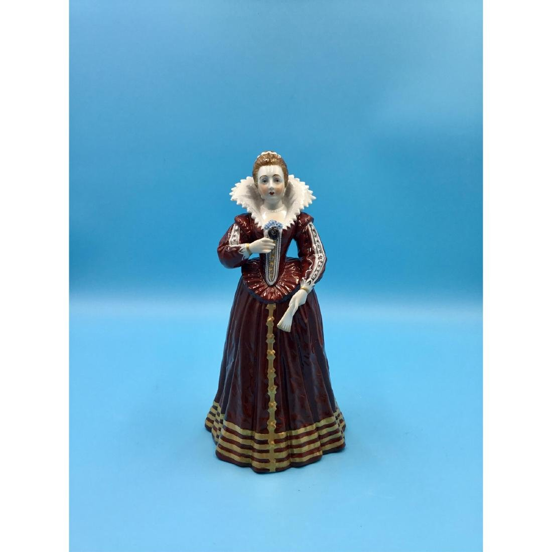 SEVRES 19THC FRENCH PORCELAIN FIGURINE