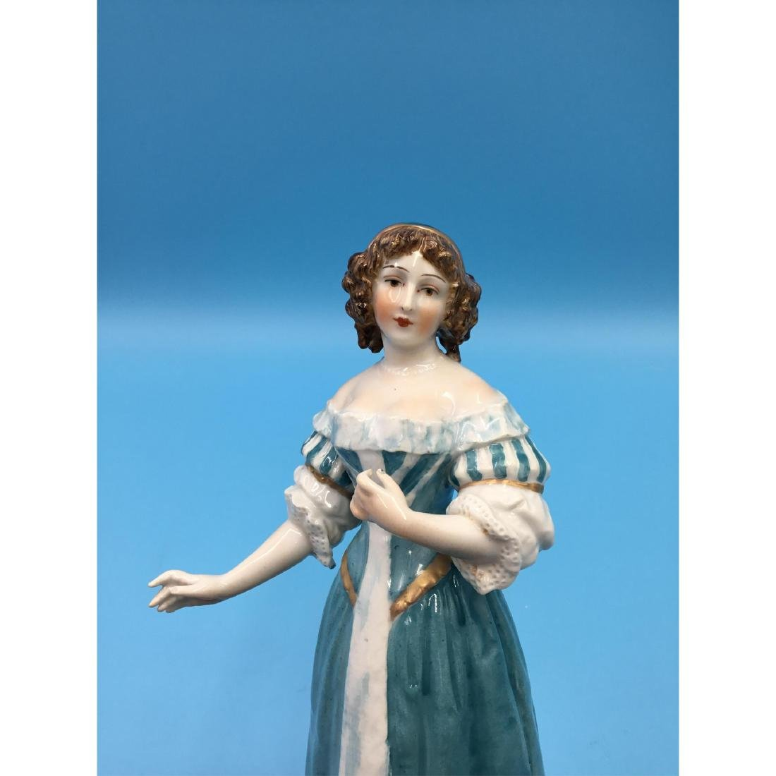SEVRES 19THC FRENCH PORCELAIN FIGURINE - 6