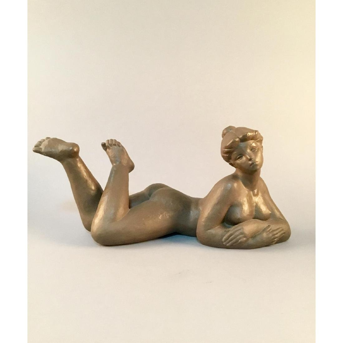 NAO BY LLADRO LARGE NUDE SCULPTURE