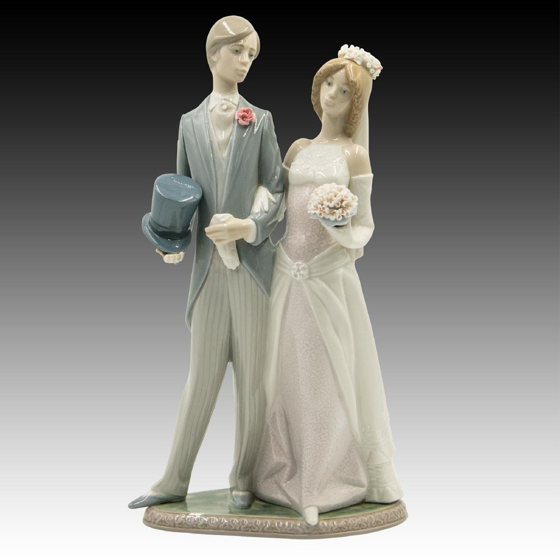 LLADRO MATRIMONY FIGURINE 1404 RETIRED 1997