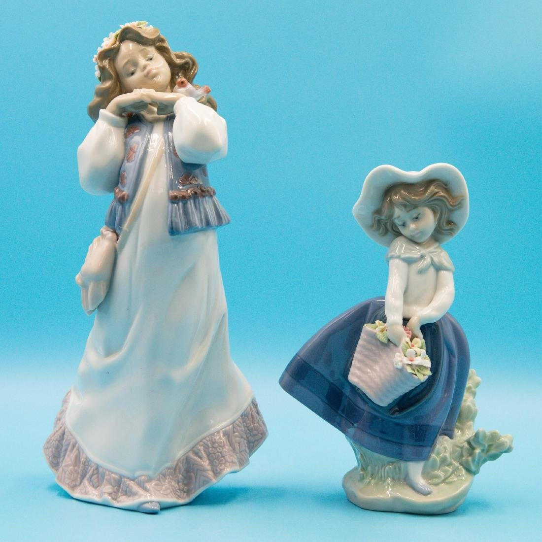 LLADRO DREAM SUMMER'S PAST AND PRETTY PICKINGS