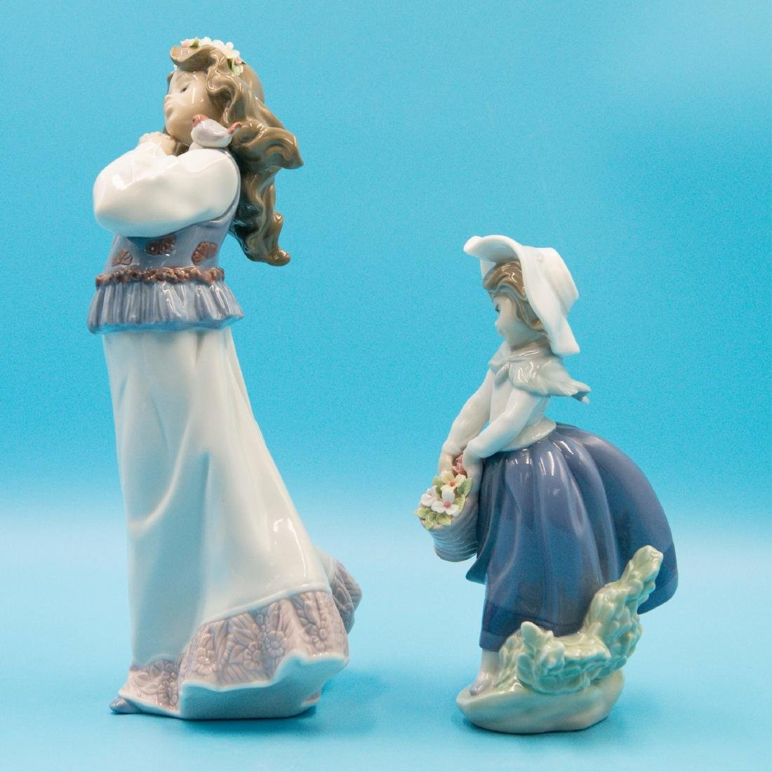 LLADRO DREAM SUMMER'S PAST AND PRETTY PICKINGS - 2