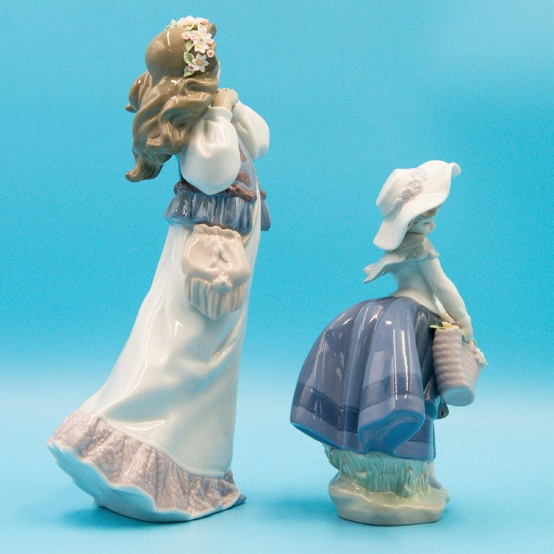 LLADRO DREAM SUMMER'S PAST AND PRETTY PICKINGS - 4