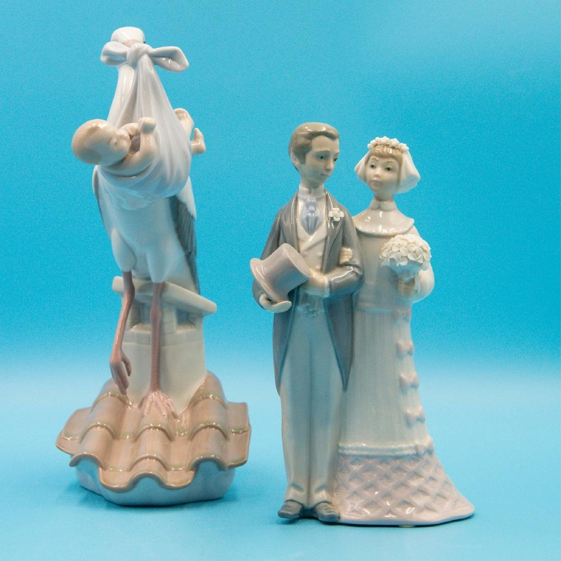 LLADRO WEDDING 4808 AND SPECIAL GIFT 6228