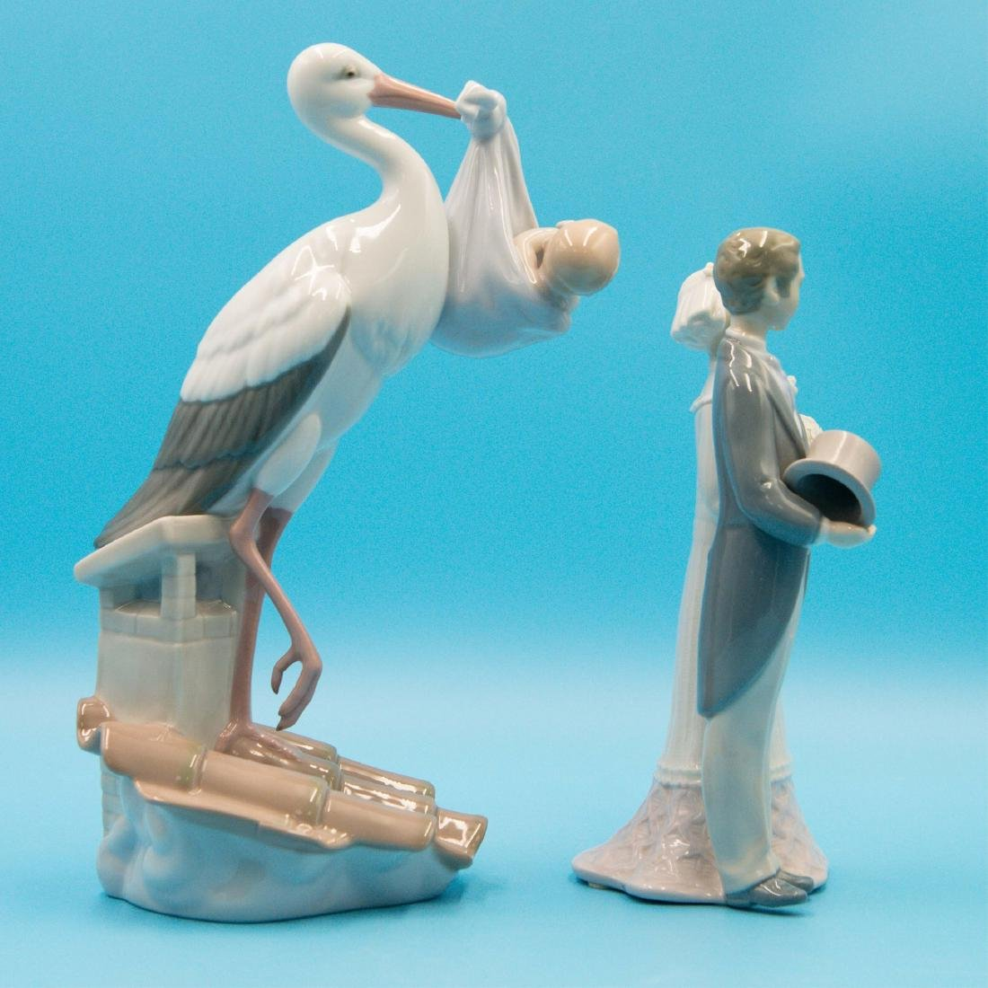 LLADRO WEDDING 4808 AND SPECIAL GIFT 6228 - 4