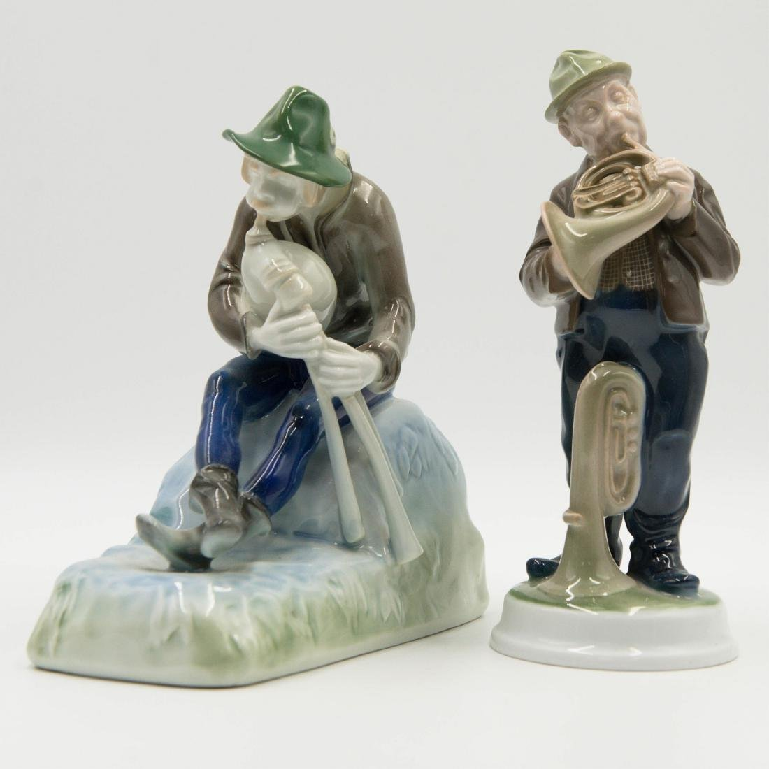 PAIR OF ROSENTHAL MUSICIANS GROUP FIGURINE