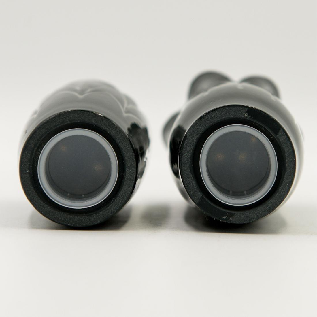 LLADRO NATUROFANTASTIC SALT & PEPPER SHAKERS BLACK - 3