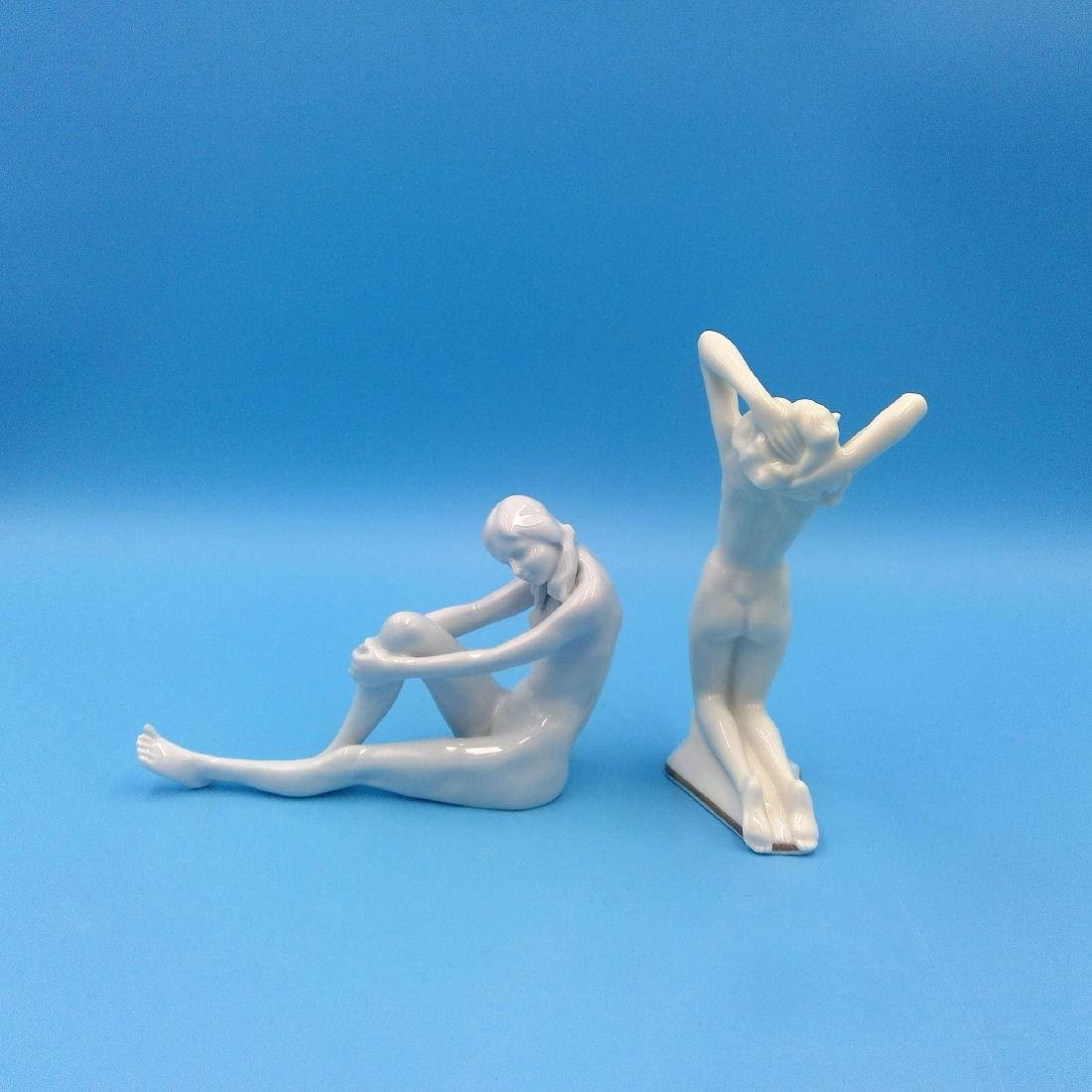 GROUP 2 ROSENTHAL & HUTSCHENREUTHER NUDE FIGURINES - 2
