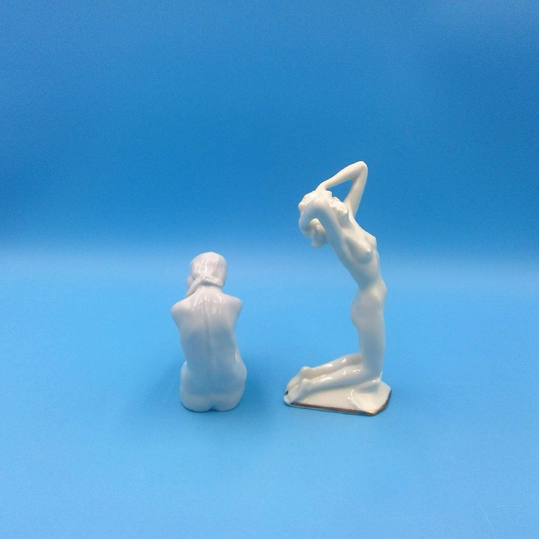 GROUP 2 ROSENTHAL & HUTSCHENREUTHER NUDE FIGURINES - 3