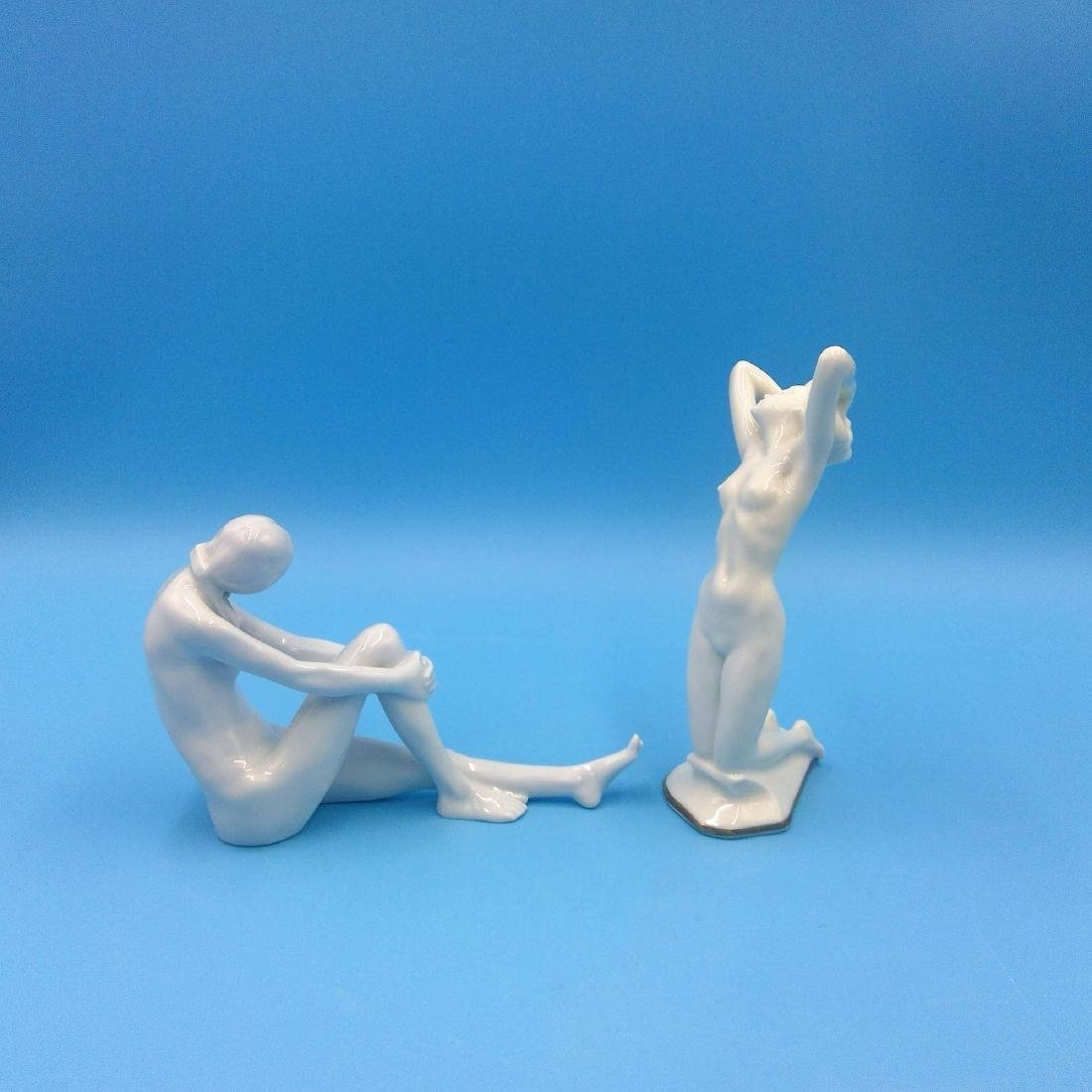 GROUP 2 ROSENTHAL & HUTSCHENREUTHER NUDE FIGURINES - 4